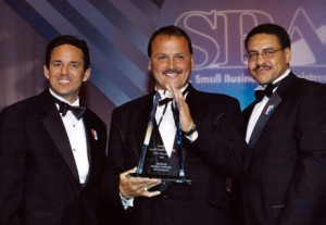 SBA National Minority firm of the year 2001